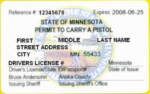 Minnesota Handgun Carry Permit