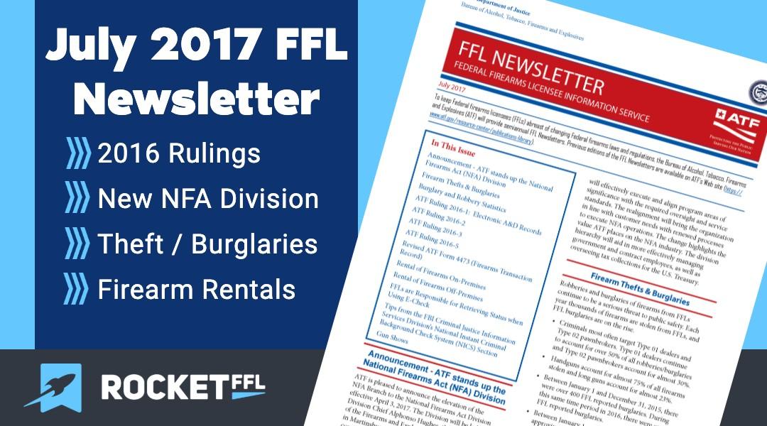 July 2017 ATF Newsletter