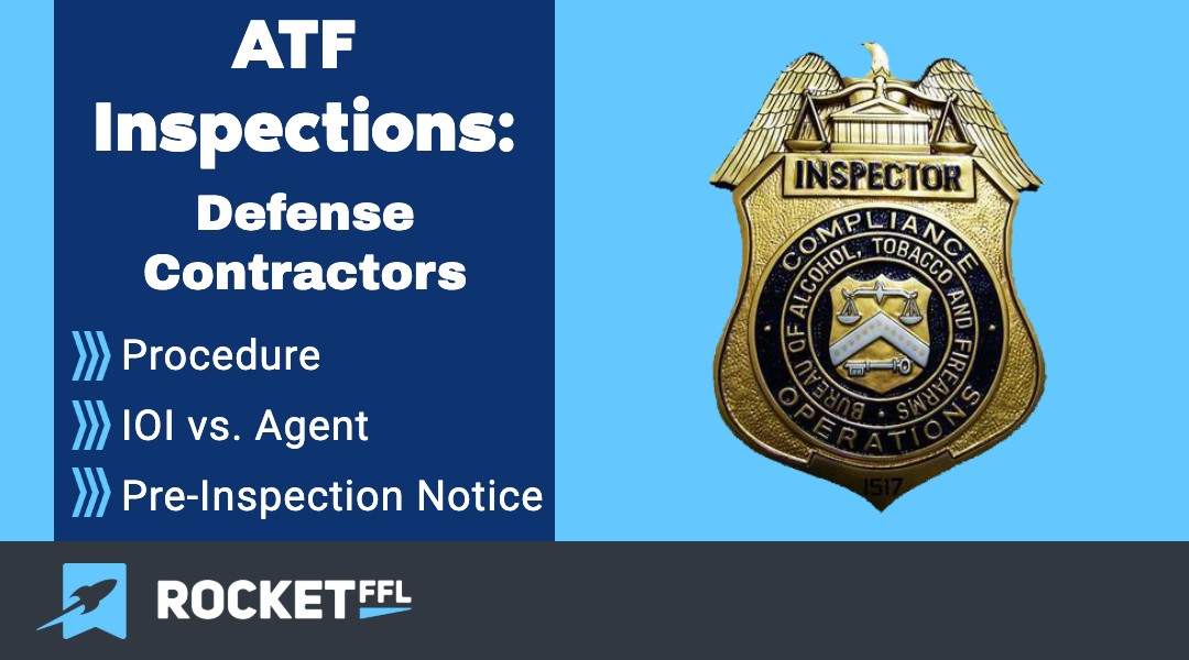 ATF Inspections DOD