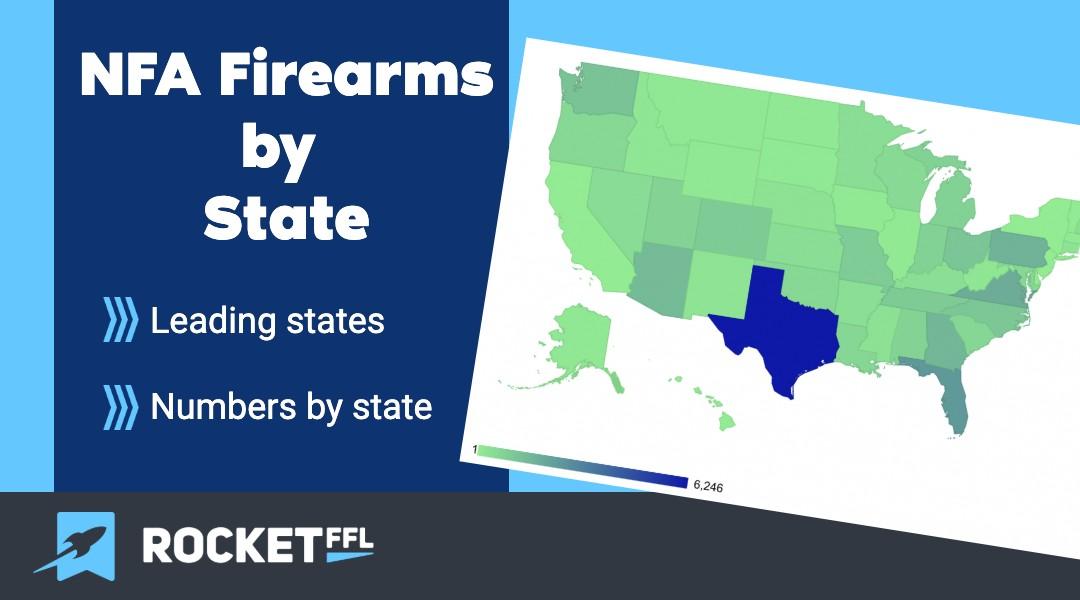 NFA Firearms by State