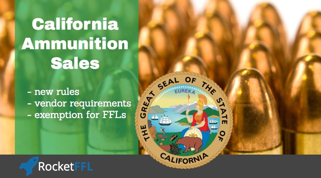 California Ammunition Sales