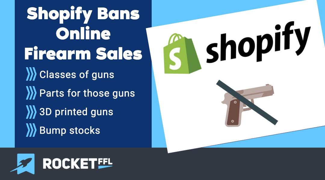 Shopify Bans Firearm Sales