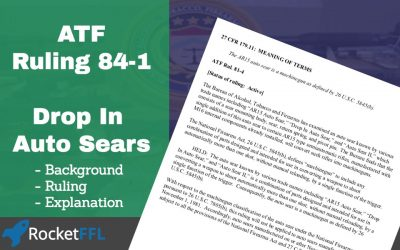 ATF Ruling 81-4 – Drop In Auto Sear (DIAS)