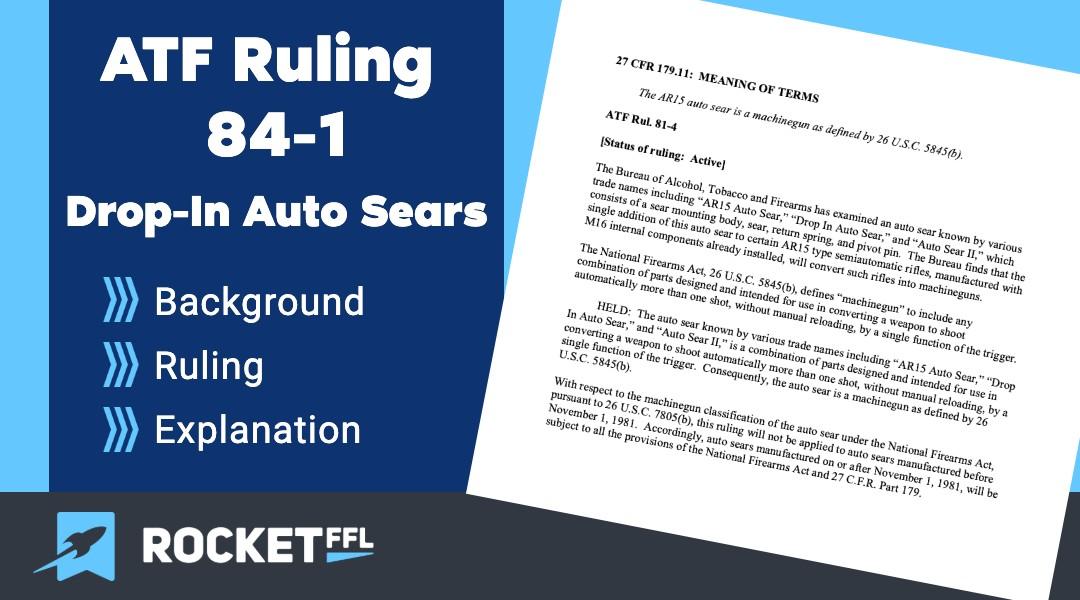 ATF Ruling 84-1