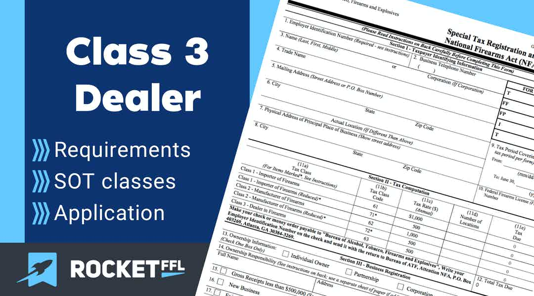 Class 3 License and How to Become a Dealer