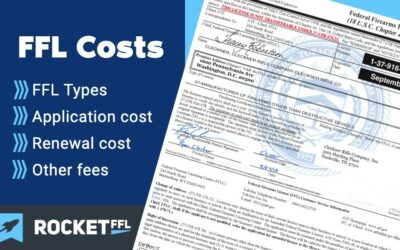 FFL License Cost [2021] – How Much is a Federal Firearm License?