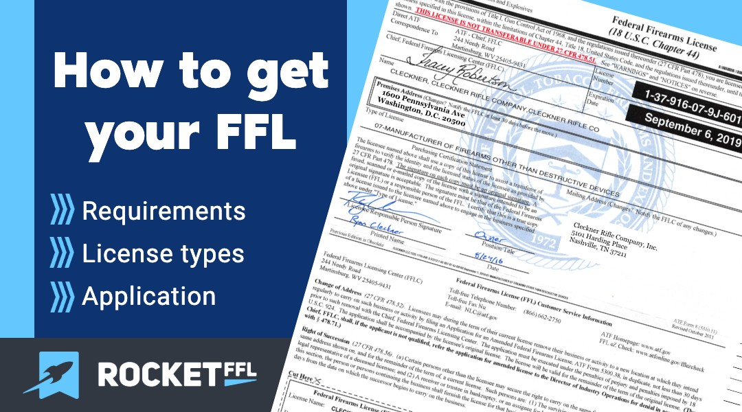 How To Get An Ffl License Rocketffl