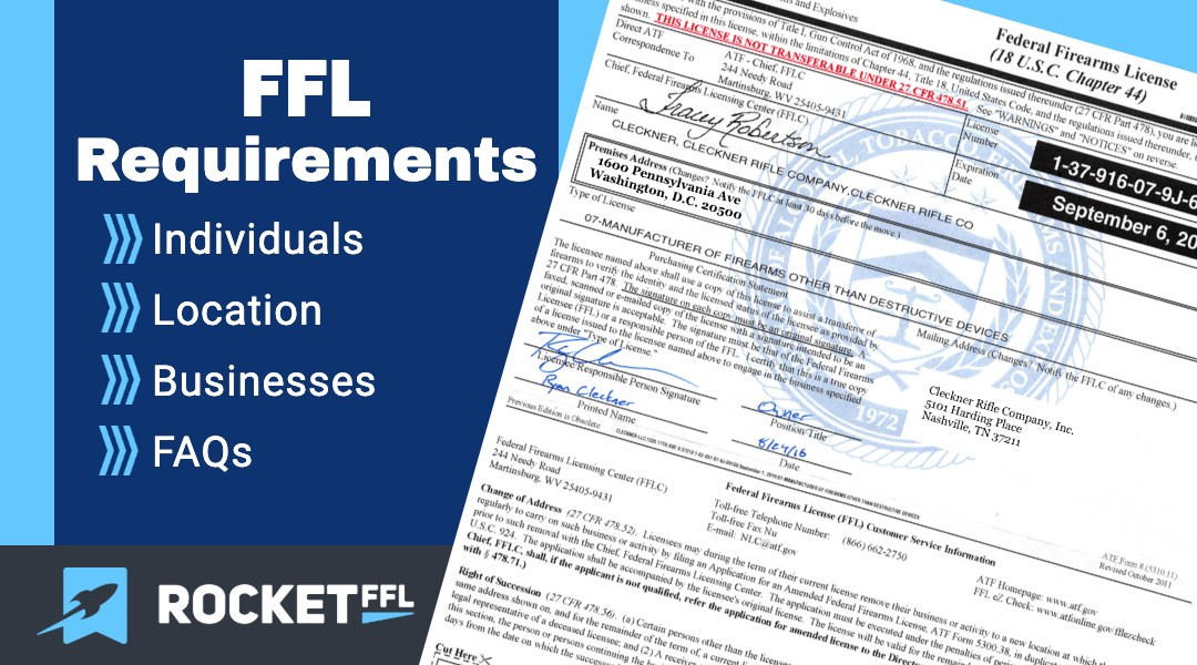 FFL Requirements – How To Qualify for a Firearm License [2021]