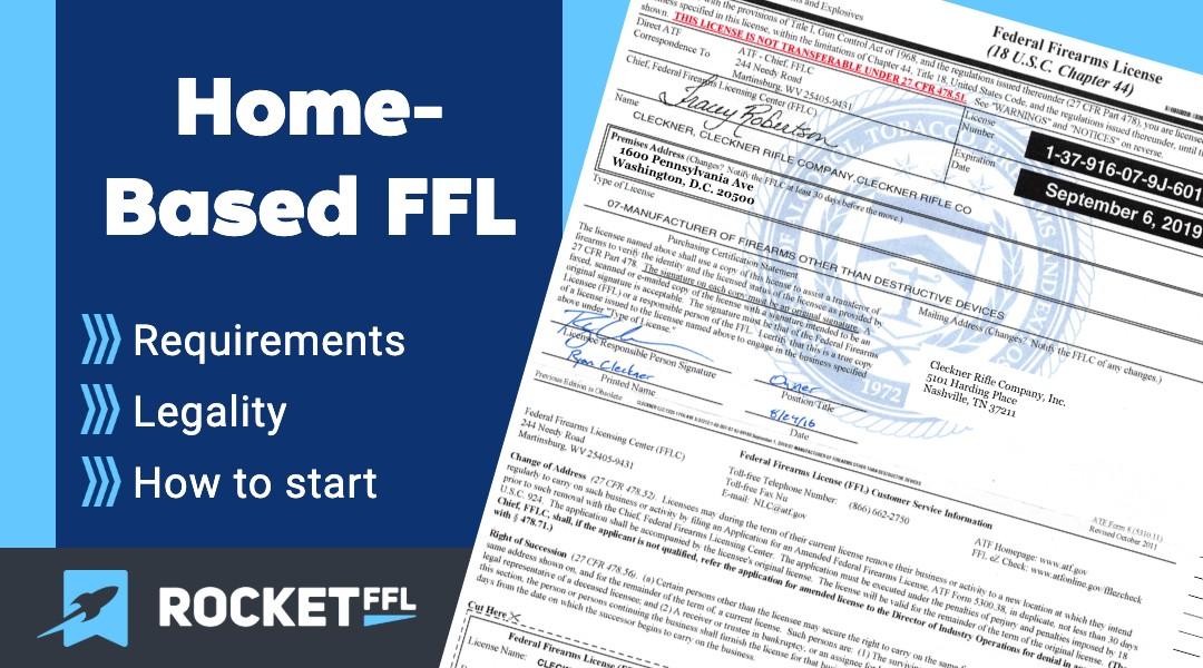 Home-Based FFL Guide
